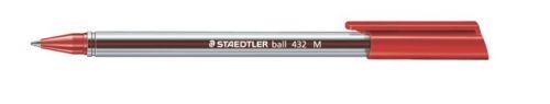 Golyóstoll, 0,5 mm, kupakos, STAEDTLER