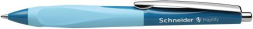 Golyóstoll, 0,5 mm, nyomógombos,  színű tolltest, SCHNEIDER