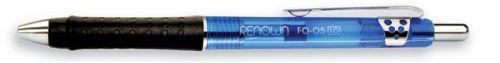 Golyóstoll, 0,5 mm, nyomógombos Renown