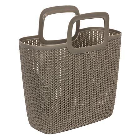 Kötött hatású bevásárló táska, CURVER
