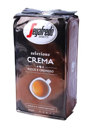 Kávé, pörkölt, őrölt, 1000 g, Selezione Crema