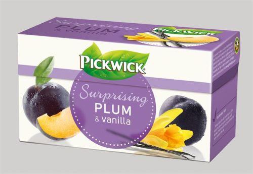 Gyümölcstea, 20x2 g, PICKWICK, szilva, vanília, fahéj