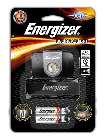 Fejlámpa, 1 LED, 2xAAA, ENERGIZER