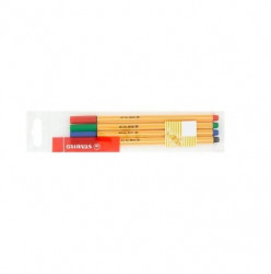 Tűfilc készlet, 0,4 mm, Point 88, 4 különböző szín