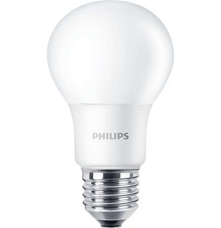 LED izzó, E27, gömb, 8W, 806lm, 2700K, A60,