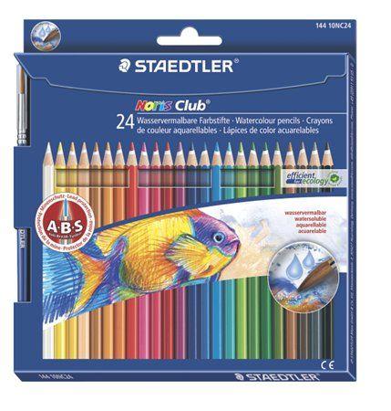 Akvarell ceruza készlet, ecsettel, STAEDTLER