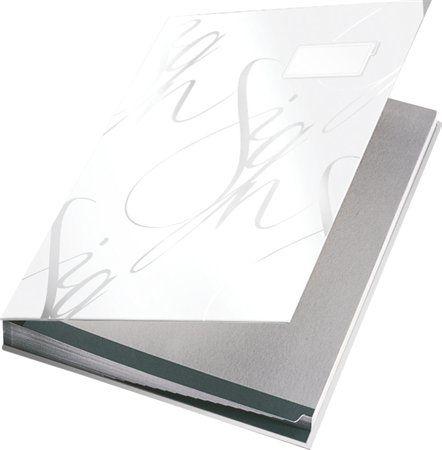 Aláírókönyv, A4, 18 részes, karton, LEITZ