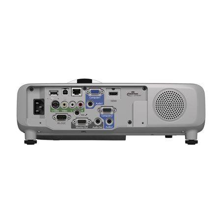 Projektor, látószögű, LCD, XGA, 2700 lumen,  EPSON