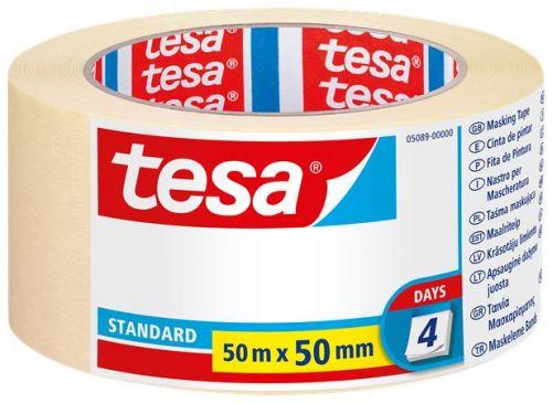 Festő- és mázolószalag, 50 mm x 50 m, TESA