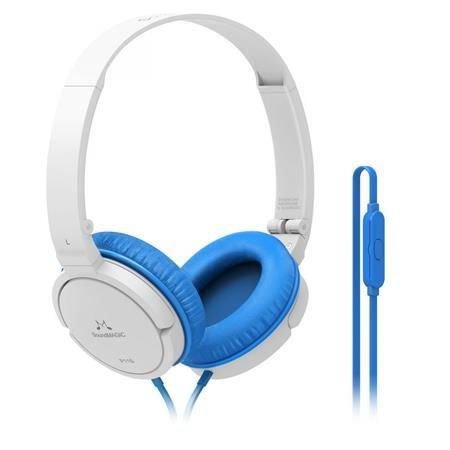 Fejhallgató, vezetékes, beépített mikrofonnal, 3,5 mm jack, SOUNDMAGIC