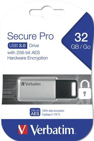 Pendrive, 32GB, USB 3.0, 100/35MB/sec, PC & MAC, SECURE DATA PRO