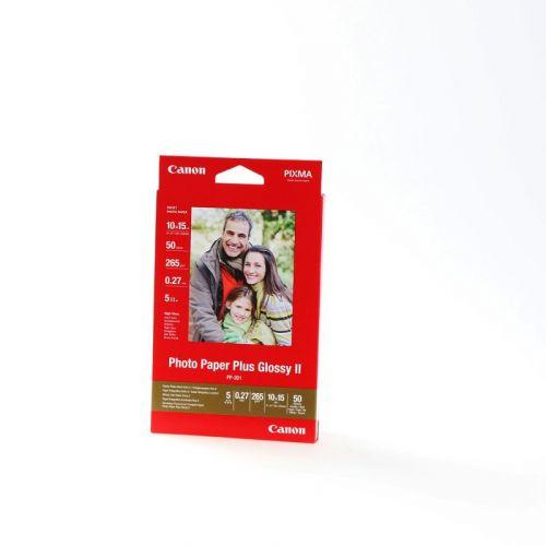 PP-201 Fotópapír, tintasugaras, 10x15 cm, 265 g,  fényes, CANON