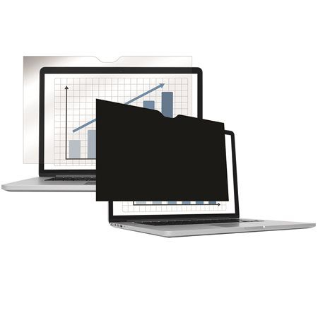 Monitorszűrő, betekintésvédelemmel, 310x175 mm, 14