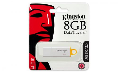 Pendrive, 8GB, USB 3.0, KINGSTON