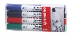 Táblamarker készlet, 2,5-3,5 mm, kúpos, STABILO