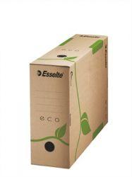 Archiváló doboz, A4, 100 mm, újrahasznosított újrahasznosított karton, ESSELTE
