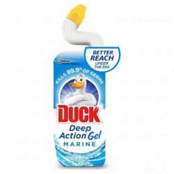 (1284) WC-tisztítógél, 750 ml, DUCK, óceán