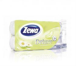 Toalettpapír, 3 rétegű, 8 tekercses, ZEWA Deluxe Kamilla