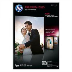 CR677A Fotópapír, tintasugaras, 10x15, 300 g, fényes, HP