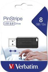 Pendrive, 8GB, USB 2.0, 10/4MB/sec, VERBATIM