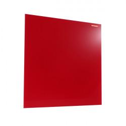 Üvegtábla MEMOBOARDS mágneses 45x45 cm piros