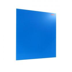Üvegtábla MEMOBOARDS mágneses 45x45 cm kék