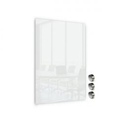 Üvegtábla MEMOBOARDS mágneses 90x60 cm fehér