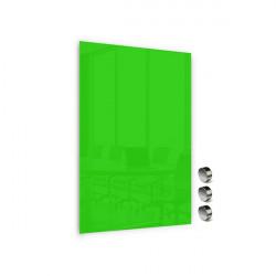 Üvegtábla MEMOBOARDS mágneses 90x60 cm zöld
