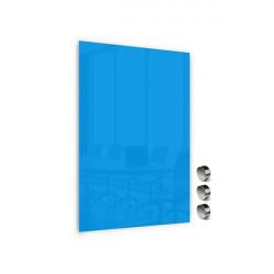 Üvegtábla MEMOBOARDS mágneses 90x60 cm kék