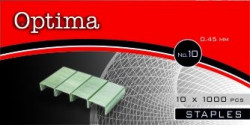 Tűzőkapocs OPTIMA No.10 1000 db/dob