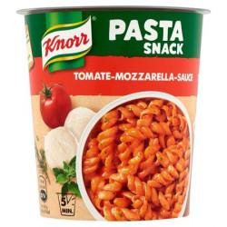 Instant készétel, 72 g, KNORR Snack, tészta paradicsomos mozzarella szósszal