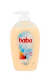 (1106) Folyékony szappan, 0,25 l, BABA, tej és gyümölcs
