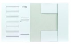 (1127) Iratgyűjtő FORTUNA pólyás dosszié, fehér