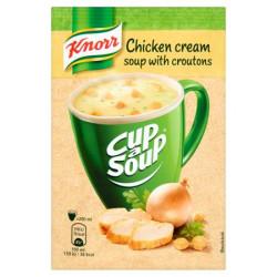 Instant leves, 16 g, KNORR Cup a Soup, csirkekrémleves