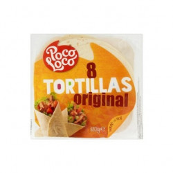 Tortilla, búzalisztből