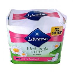 Egészségügyi betét LIBRESSE Natural Care Normal 10 db