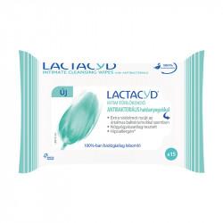 Intim törlőkendő LACTACYD antibakteriális 15 db