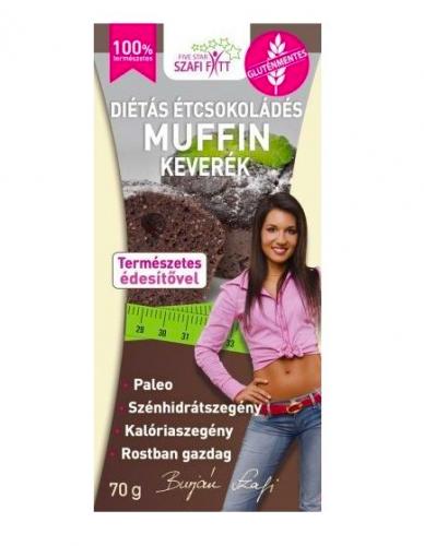 Étcsokis muffin keverék