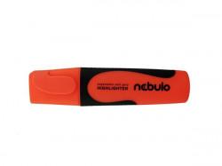 Szövegkiemelő, 2-5 mm, NEBULO, neonnarancs