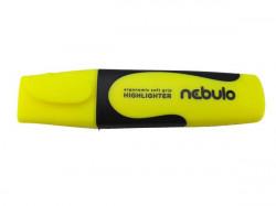 Szövegkiemelő, 2-5 mm, NEBULO neonsárga