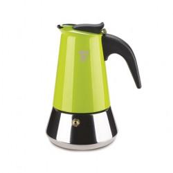 1387V ZÖLD Kávéfőző kotyogós 4 személyes