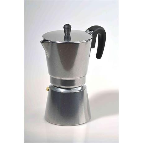 POLÍROZOTT Kávéfőző kotyogós 4 személyes