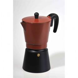 1049 Kávéfőző, kotyogós 4 személyes, barna