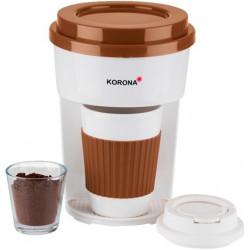 12202 Kávéfőző filteres utazóbögrével