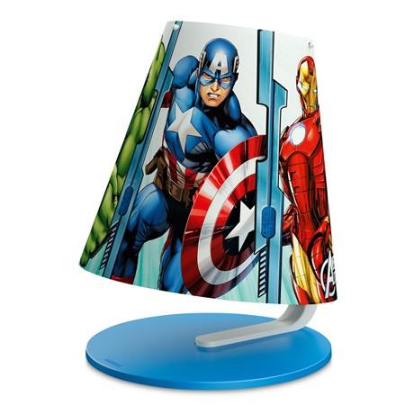 Marvel Bosszúállók 1X3W Asztali lámpa