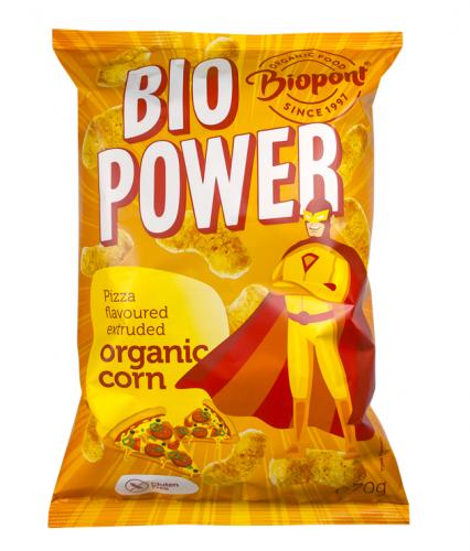 bio power kukorica pizza