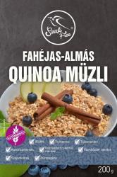 free quinoa müzli fahéjas-almás