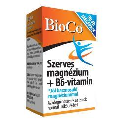 szerves magnézium+b6 tabletta