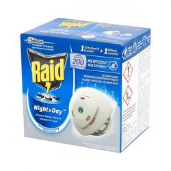 Rovarírtó elektromos készülék szúnyogirtó Raid night&day illatmentes