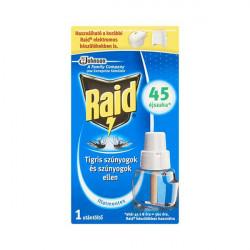 Rovarírtó szúnyogirtó Raid utántöltő elektromos készülékhez illatmentes 27ml
